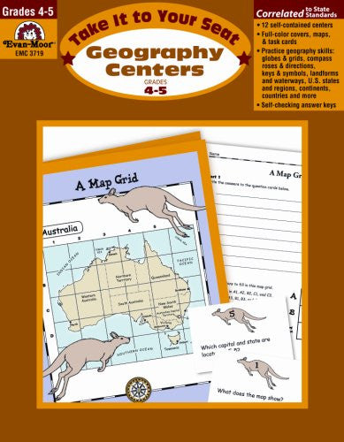 Geography Centers, Take It to Your Seat, Grades 4–5