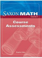 Saxon Math, Course 2: Course Assessments(not in price list)