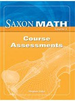 Saxon Math Course 3: Assessments(not in price list)