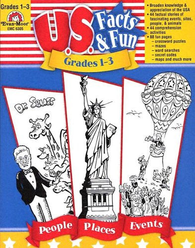 U.S. Facts & Fun, Grades 1–3