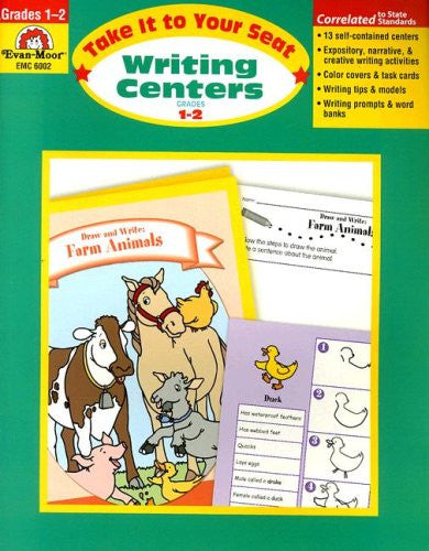 Writing Centers, Take It to Your Seat, Grades 1–2