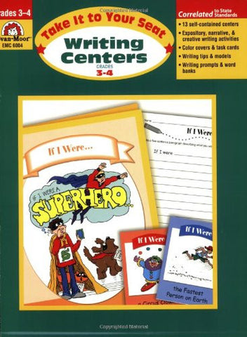 Writing Centers, Take It to Your Seat, Grades 3–4