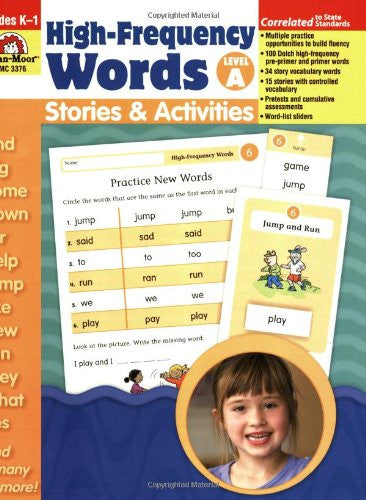 High-Frequency Words: Stories & Activities, Level A