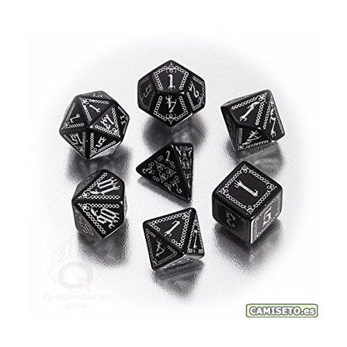 Pathfinder Carrion Crown Dice (set of 7)