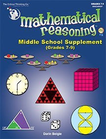 Mathematical Reasoning Middle School Supplement (Revised)
