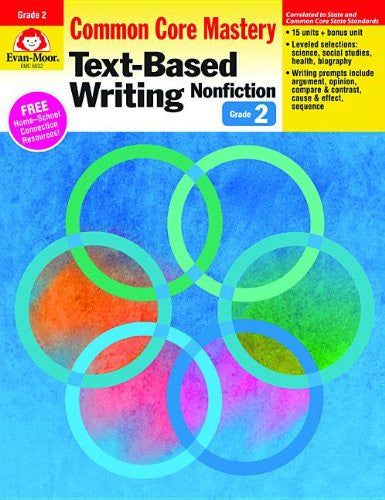 Text-Based Writing: Nonfiction: Common Core Mastery, Grade 2