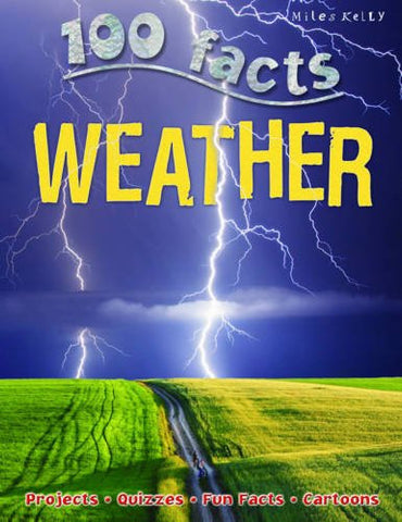 100 Facts Weather, Paperback