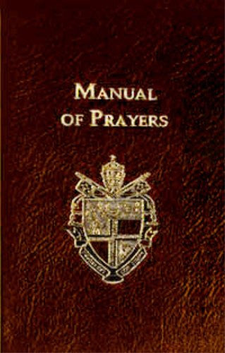 Manual of Prayers (Burgundy)