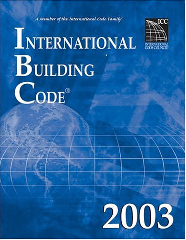 2003 International Building Code (paperback)