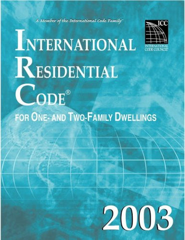 2003 International Residential Code (ring-bound)