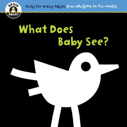 Begin Smart: What Does Baby See? For Ages 0-6 Months