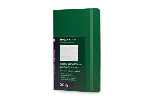 "Chronicle Books 2015 PLN LRGE HARD OX GREEN 5"" x 8.25"""