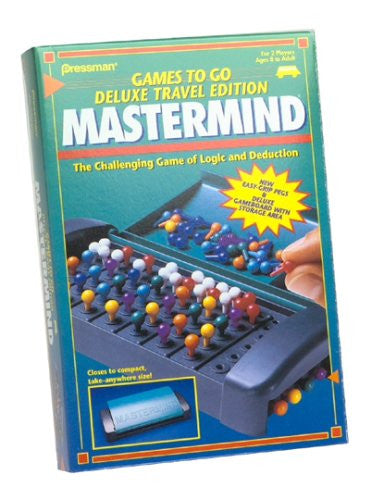Mastermind Deluxe Travel Edition by Pressman