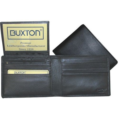 Buxton Mountaineer Credit Card Billfold - Black