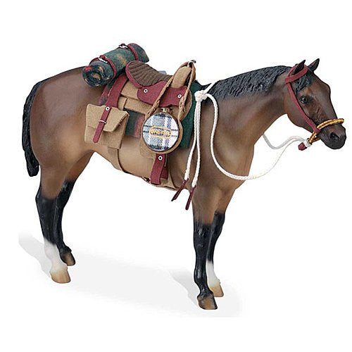 Breyer Traditional Man Made Leather Western Saddle Set