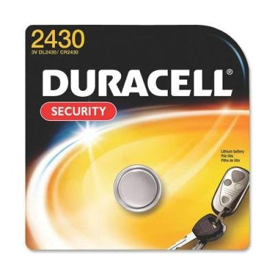 Duracell 3 Volt Lithium Battery, Security