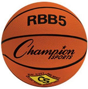 Champion Sports Outdoor Rubber 23in Mini Basketball