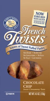 Barrys Bakery Chocolate Chip French Twists 4.5 OZ