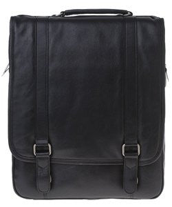 Laptop Backpack Briefcase, Black