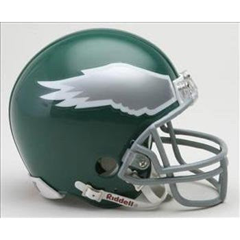 Philadelphia Eagles 1974-95 Throwback Riddell Replica Mini Helmet