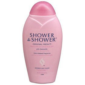 Shower To Shower Absorbent Body Powder-Original Fresh-8 oz