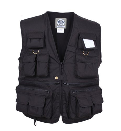 Uncle Milty Black Travel Vest - Small