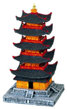 Toshogu 5 Story Pagoda of Japan - Small 4.25 x 4.25 x 8