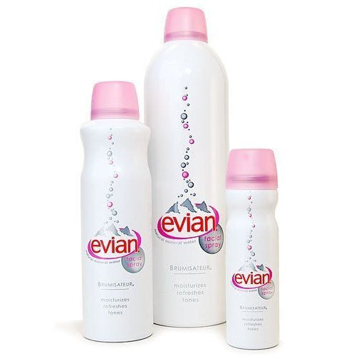 "Evian Mineral Water Spray ""Brumisateur"" 1.7 oz"