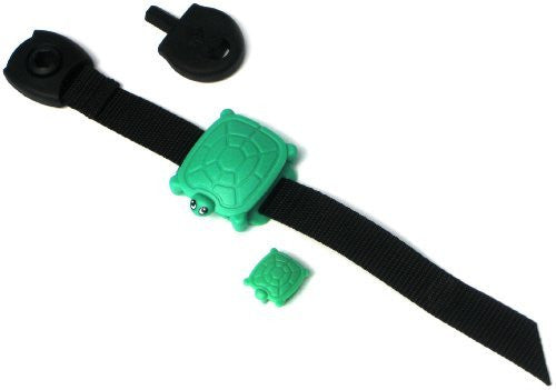 Safety Turtle Wristband for Child - Green