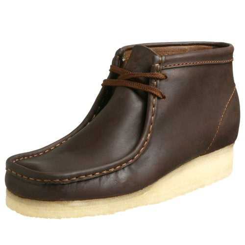 WALLABEE BOOT - Beeswax Leather - M 11.5