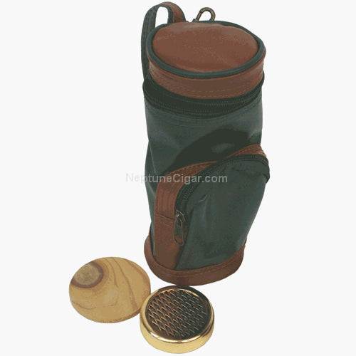 "Golf Bag Humidor 7.5"" 10 Count"
