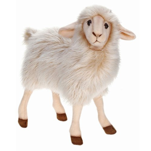 "Hansa Plush - 16"" White Mama Sheep"