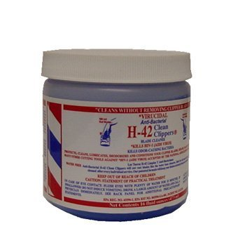Virucidal Anti-Bacterial H-42 Clean Clippers - 16oz Jar