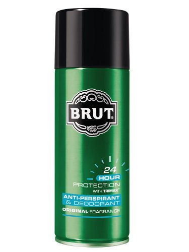 Brut Aerosol Anti-perspirant, High VOC - 40%, 6 Ounces
