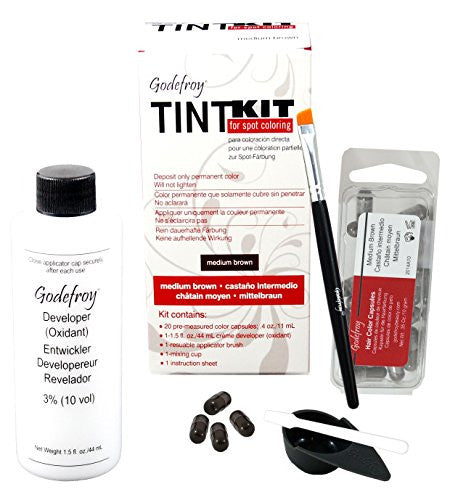 Godefroy Professional Tint Kit (Color: Medium Brown)