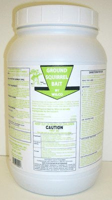 Ground Squirrel Bait 4 lbs