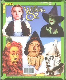 Wizard of Oz Magnet Set 08204