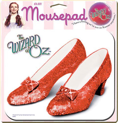 RUBY SLIPPERS - MOUSE PAD