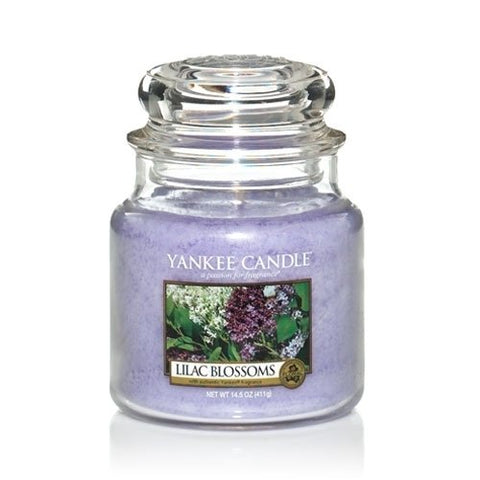 Yankee Candle Lilac Blossoms Medium Jar 14.5oz Candle