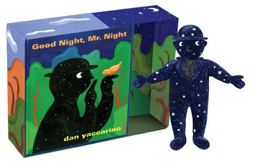 "Good Night Mr. Night, Mr. Night Board Book and 6"" Soft Toy Gift Set"