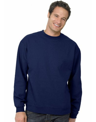 Hanes ComfortBlend Long Sleeve Fleece Crew - p160 (Deep Navy / Large)