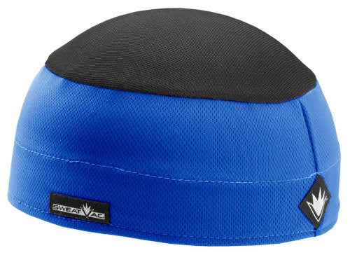 SweatVac Ventilator Cap (Blue / Black Top)