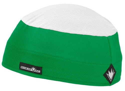 Ventilator Cap With White top, Green