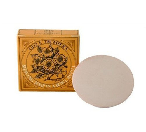 Almond oil hard Shaving Soap -Refill 80g