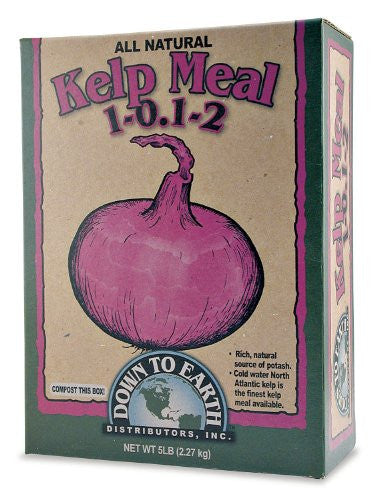 All Natural Fertilizer Kelp Meal 1-0.1-2 - 5lb