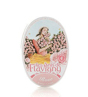Les Anis de Flavigny Rose All Natural Mints, 1.8 oz
