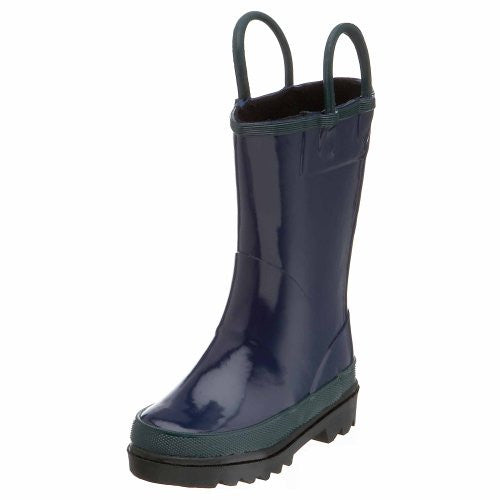 Western Chief Fire Chief Rain Boot (Toddler/Little Kid/Big Kid),Navy,10 M US Toddler
