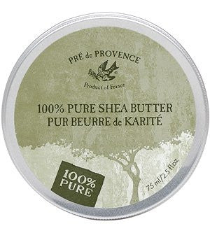 100% Pure Shea Butter - Unscented, 75ml Tin