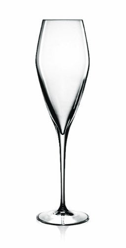 Luigi Bormioli Atelier Champagne Flute Glasses, Set of 4