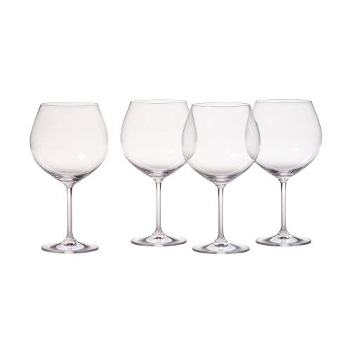 Aromatic Red Wine, Set of 4